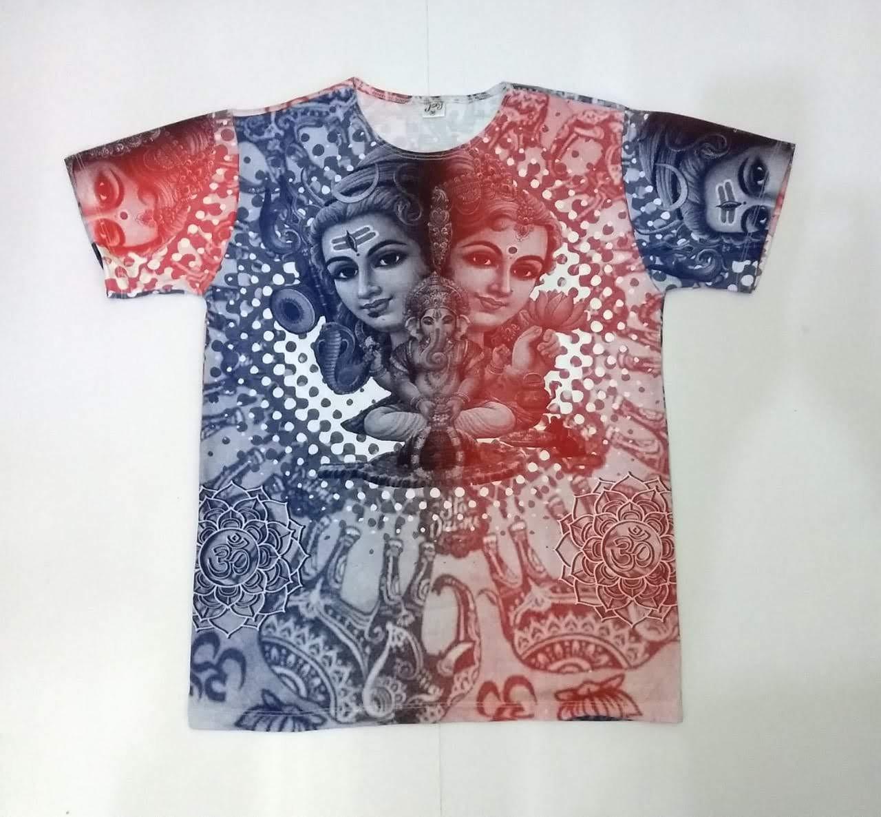 JA037 - Camiseta Branca (Família Ganesh)