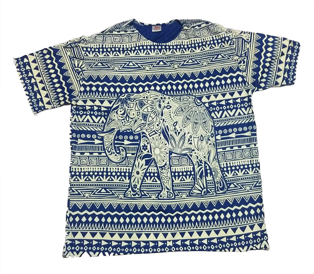 JA039 - Camiseta Azul (Elefante)