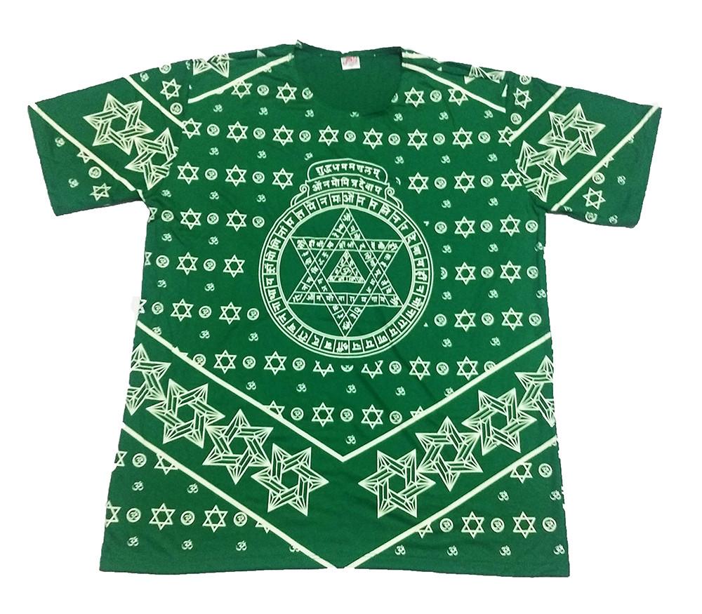JA094 - Camiseta Verde (Estrela de Davi)