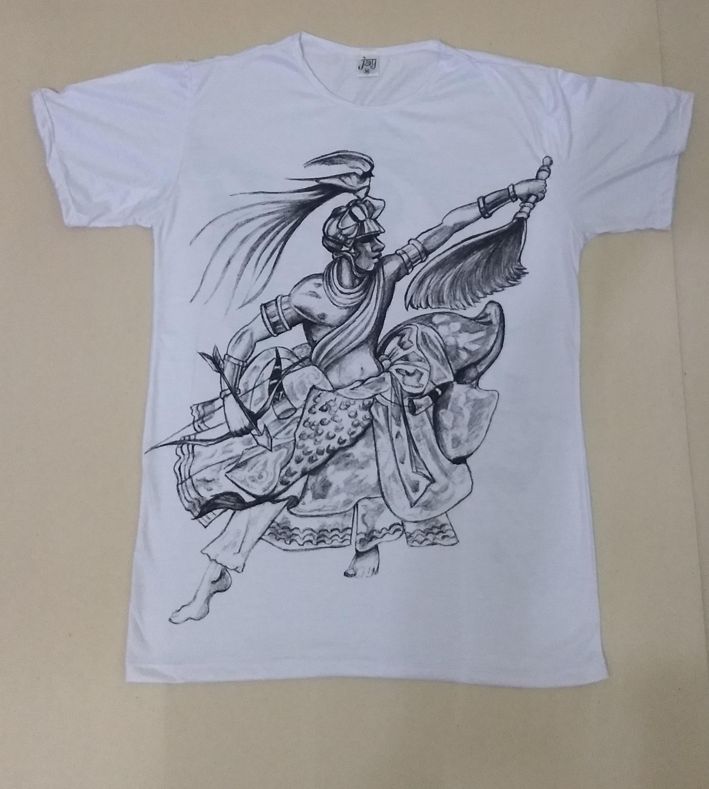 JA113 - Camiseta Branca (Linha Orixás)