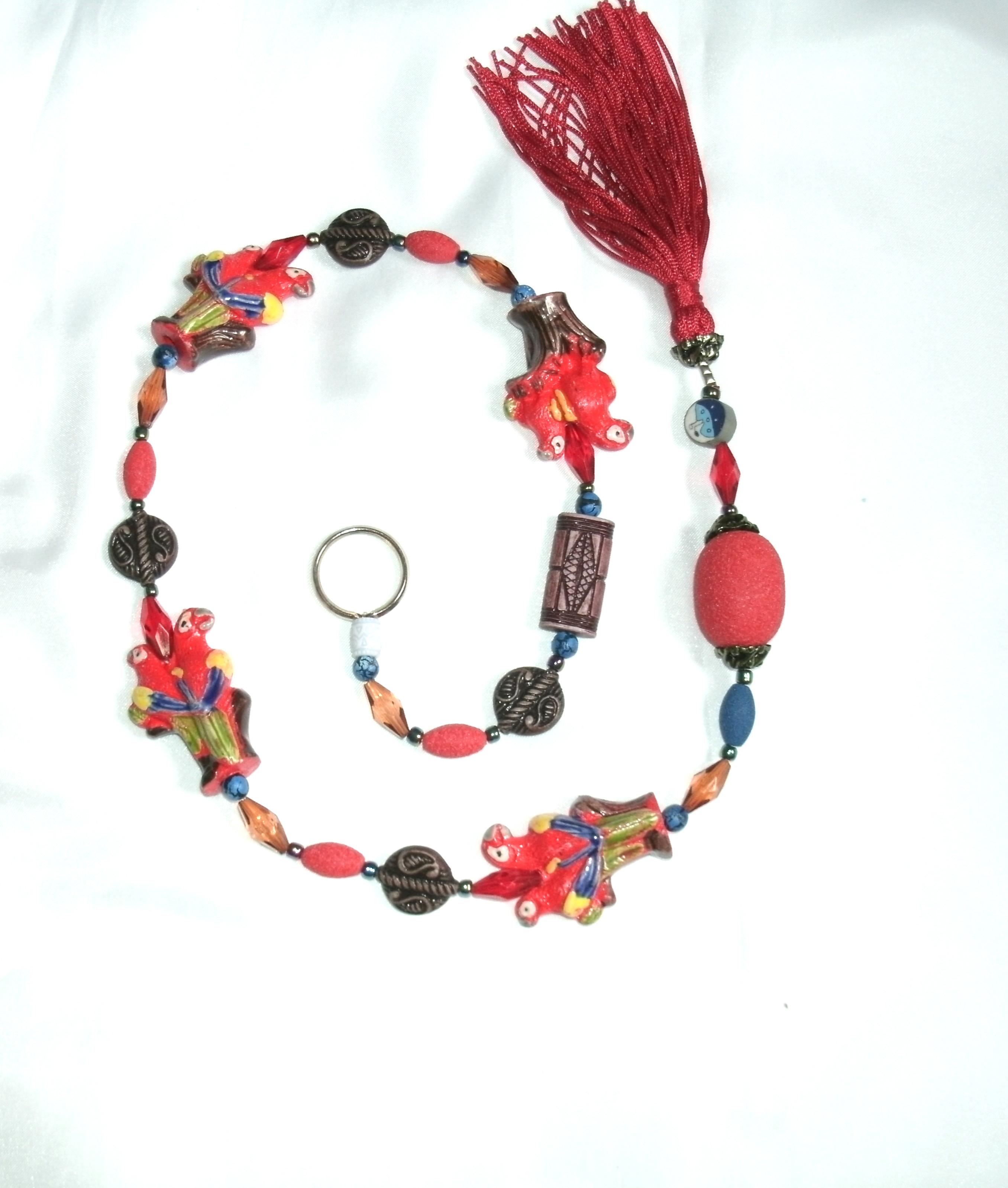 ME5900-12 - Móbile Araras (Vermelho)