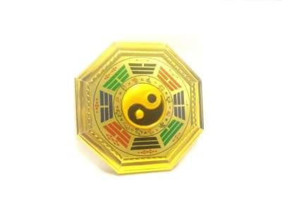CPA251139370 - Baguá Colorido Dourado (P)