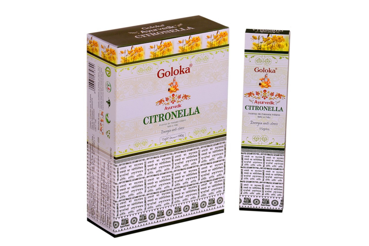 0515 - Incenso Massala Ayurvedic Citronella