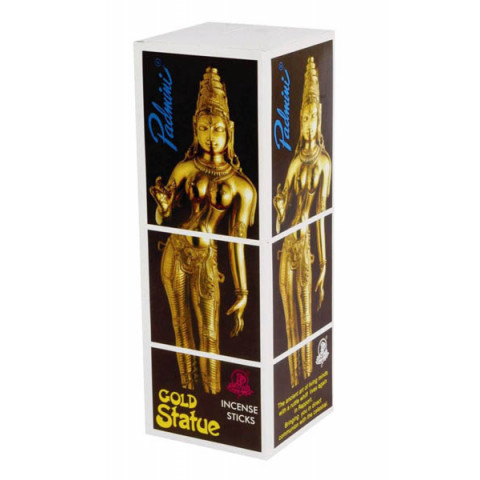1198 - Incenso Padmini Gold Statue
