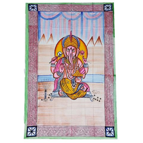 JMD806-003 - Manta Indiana Solteiro Ganesh