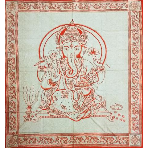 JMD806-28 -Manta Indiana Ganesh Laranja