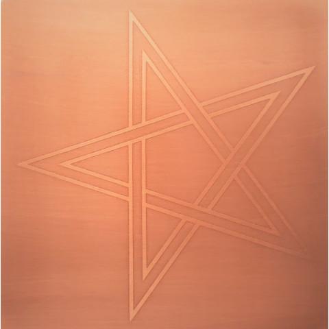 EG9919 - Gráfico Radiônico de Cobre (Estrela de Cinco Pontas)