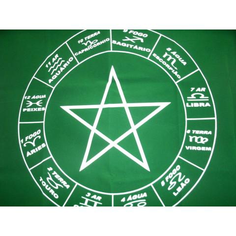 3987-06 - Mandala p/ Tarot Verde