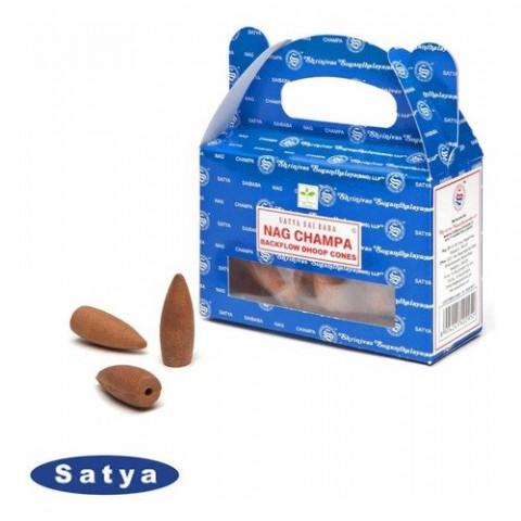 61620 - Incenso Satya Cone Cascata - Nag Champa