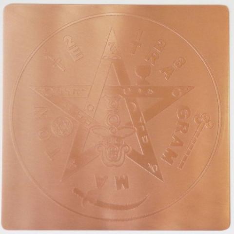 EG9902 - Gráfico Radiônico de Cobre (Tetragrama tom)
