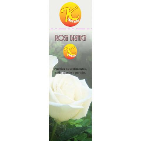 91327 - Incenso K Rosa Branca