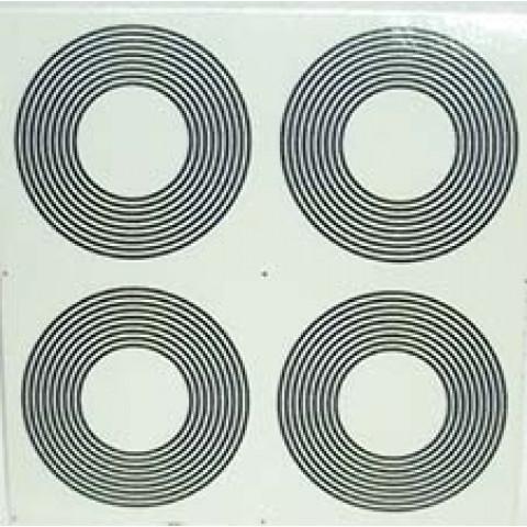 AD004 - Adesivo 9 Circulos (P) c/ 4