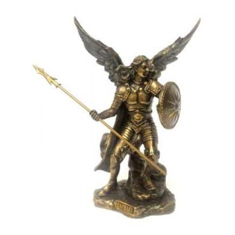 CPA041709234 - Arcanjo Rafael Bronzeado (76306A4) 23cm