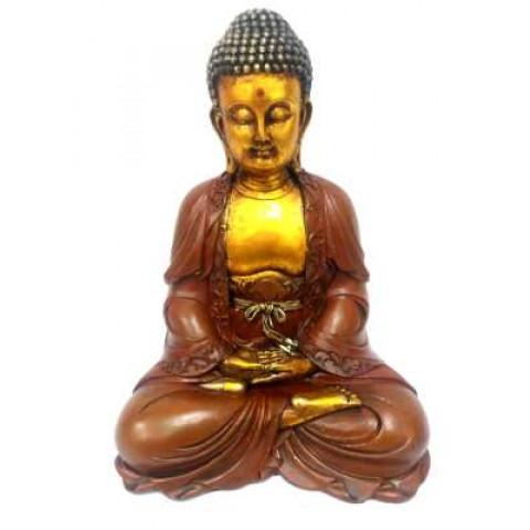CPB001839296 - Buda Sentado 29125-1 Meditação