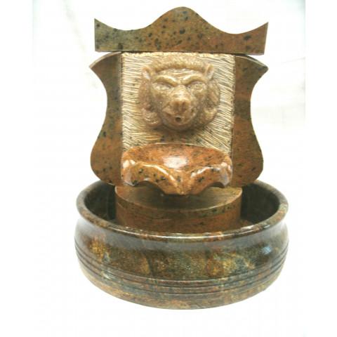 FA001-04 - Fonte de Pedra Sabão Colonial Leão