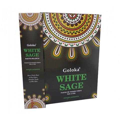 0795 - Incenso Goloka White Sage