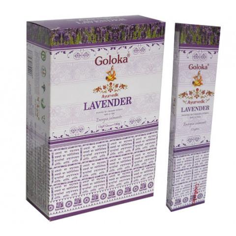 0880- Incenso Massala Goloka Lavender