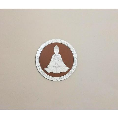 ME5914-5 - Mandala Madeira Budha P