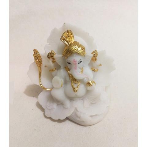 CPB040554607 - Ganesh 2017-14A Branco/Dourado