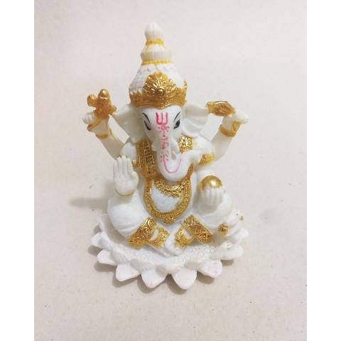 CPB040564607 - Ganesh 2018-58A Branco/Dourado