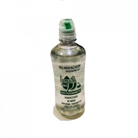 cov01-01 - Álcool Gel Higienizador (Álcool Etílico Hidratado 70%) 500ml