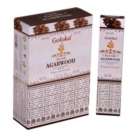 0153 - Incenso Massala Goloka Agarwood