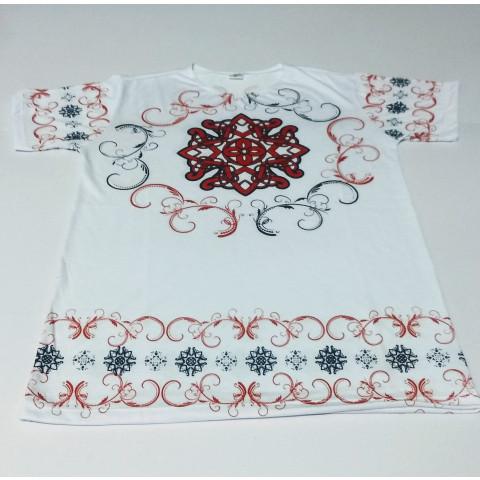 JA053 - Camiseta Branca (Estrela de Belém)