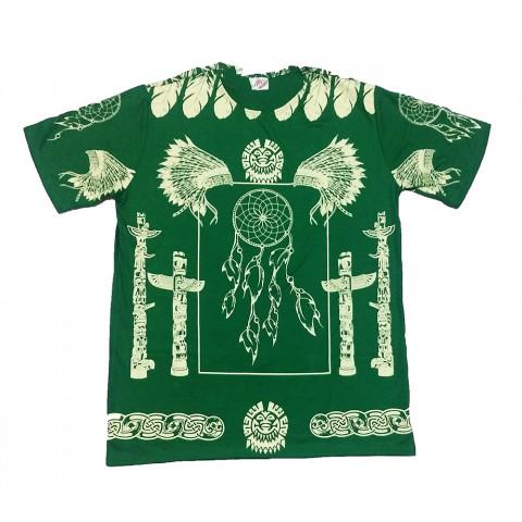 JA066 - Camiseta Verde (Xamanica Filtro Dos Sonhos)