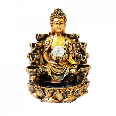BP17389 - Fonte Buda Cascata Dourado C/ Bolinha (GG)