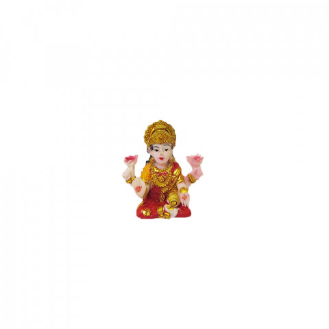 BP8390B - Mini Escultura Lakshmi Colorida (4cm)