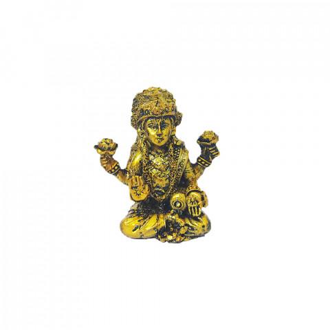 BP17468B - Escultura Pequena Lakshmi Dourada (7cm)