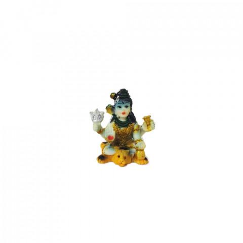 BP8390A - Mini Escultura Shiva Colorido (4,5cm)