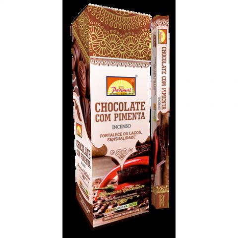 1167 - Incenso Parimal Chocolate Com Pimenta