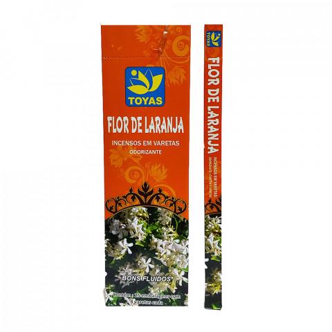 0502 - Incenso Indiano Toyas Flor de Laranjeira