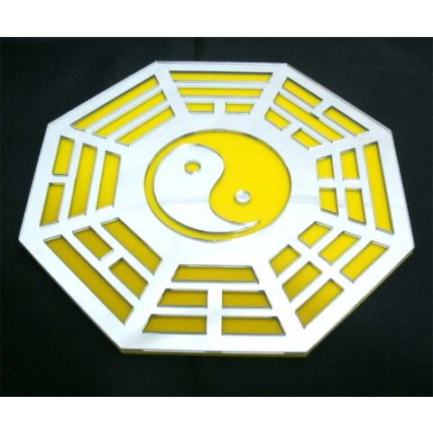 MA4100-03 - Baguá Acrilico Espelhado Amarelo