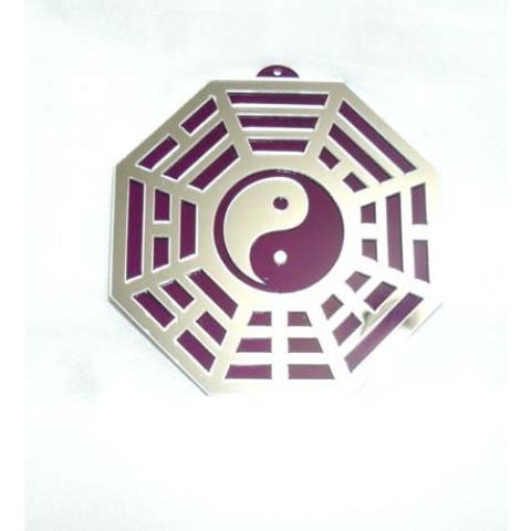 MA4103-02 - Baguá Acrílico Espelhado Roxo (11.5cm)