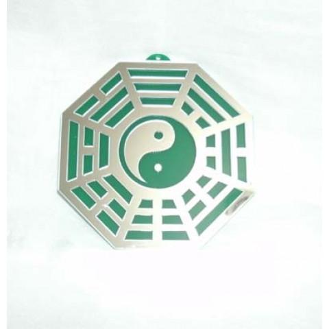 MA4103-06 - Baguá Acrílico Espelhado Verde (11.5cm)