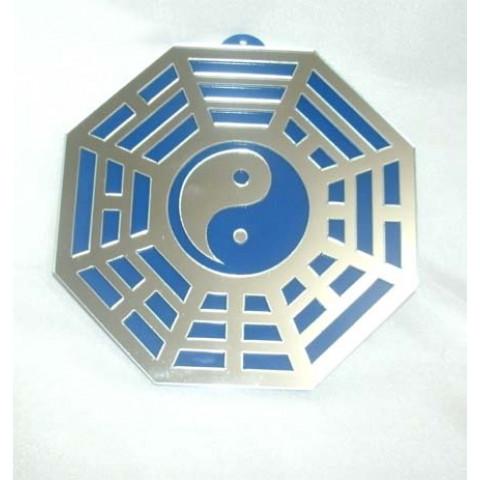 MA4103-07 - Baguá Acrílico Espelhado Azul (11.5cm)