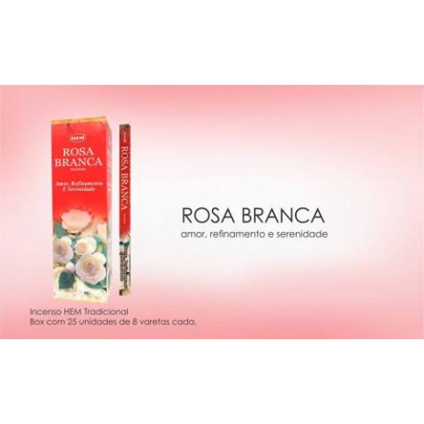 1356 - Incenso Hem Rosa Branca