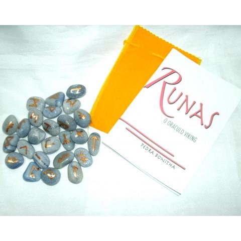 RU004-06 - Oraculo Runas (Quartzo Azul)