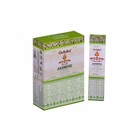 0338 - Incenso Massala Goloka Jasmine