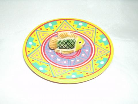MC3028-04 - Incensario Ceramica Peruana c/ Peixe