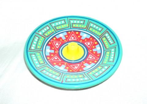 MC3028-07 - Incensário Cerâmica Peruana Simples