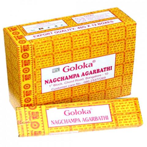 0151 - Incenso Goloka Nag Champa Agarbathi