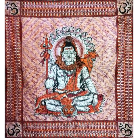 JMD806-12 - Toalha Indiana Shiva Vermelha