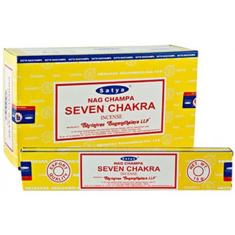 1614 - Incenso Massala Satya Seven Chakra