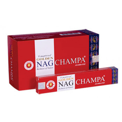 1634 - Incenso Massala Golden Nag Champa