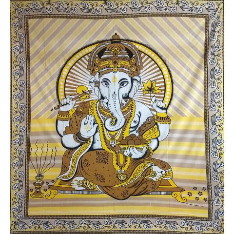 JMD806-16 - Toalha Indiana Ganesh Amarela