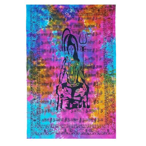 JMD806-004 - Manta Indiana Solteiro Shiva Colorido