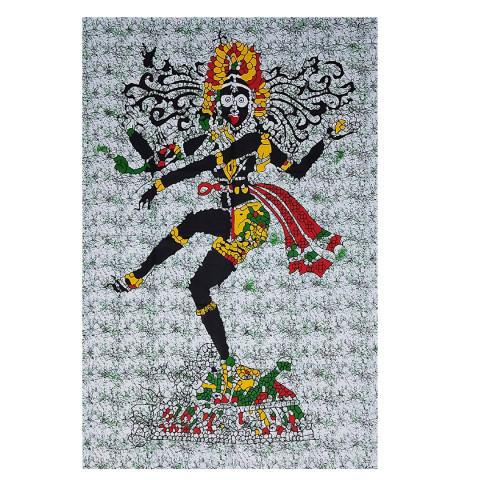 JMD806-005 - Manta Indiana Solteiro Shiva Nataraja